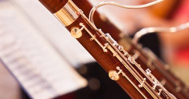 bassoon in an orchestral setting