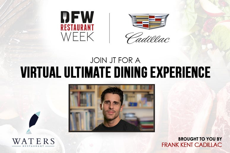 Ultimate Dining Experience – Waters Restaurant – Fort Worth