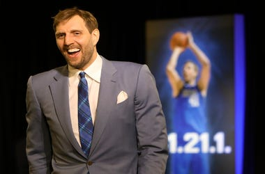 Dallas Mavericks forward Dirk Nowitzki