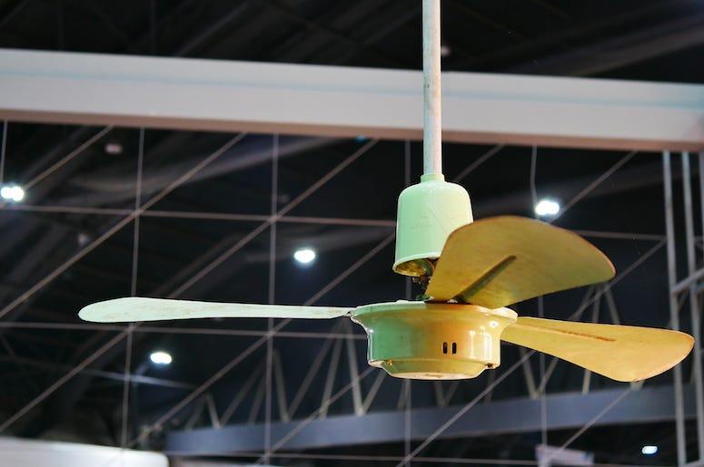 Ceiling Fan, Electric Fan, Restaurant