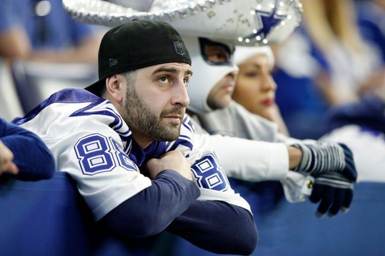 Sad Dallas Cowboys Fan