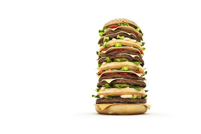 Tall Burger