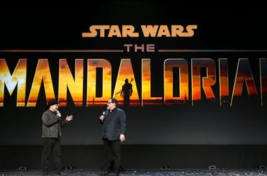 Dave Filoni and Jon Favreau