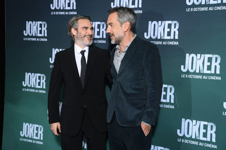 Joaquin Phoenix and Todd Philips