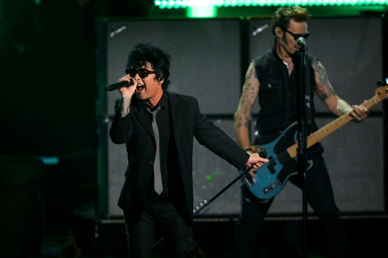 Green Day Performing Live