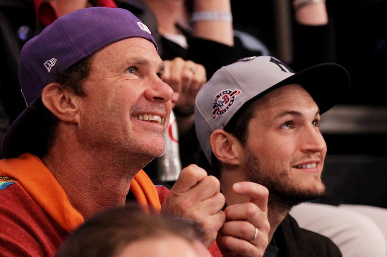 Chad Smith and John Frusciante