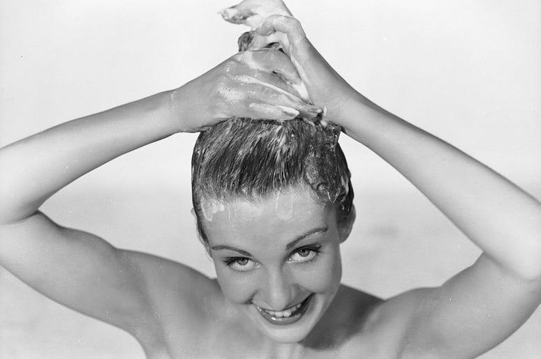 shampoo girl