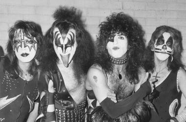 Ace Frehley, lead singer Gene Simmons, guitarist Paul Stanley and drummer Peter Criss