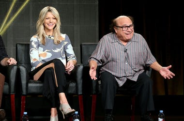 Kaitlin Olson and Danny DeVito