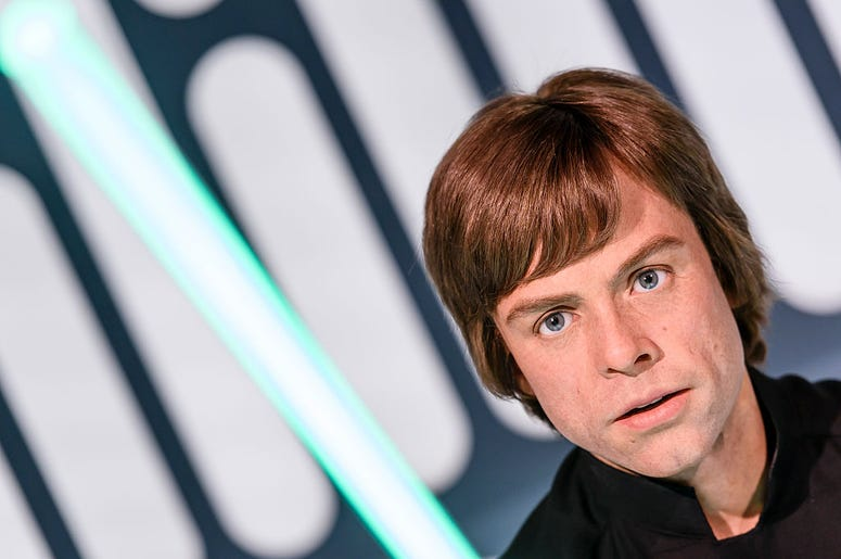 Wax Figurine of Luke Skywalker