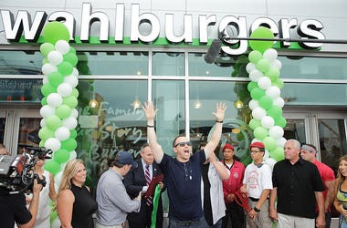 Donnie Wahlberg attends ribbon cutting