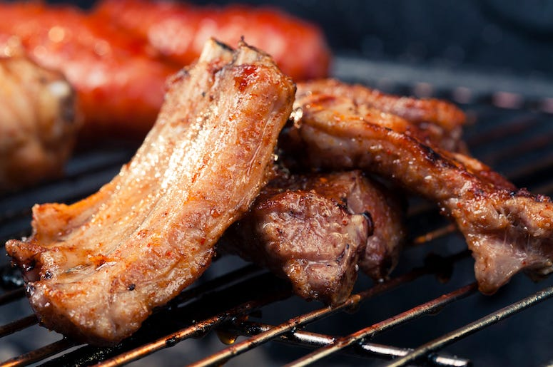 Ribs, BBQ, Barbecue, Pork, Grill, Meat