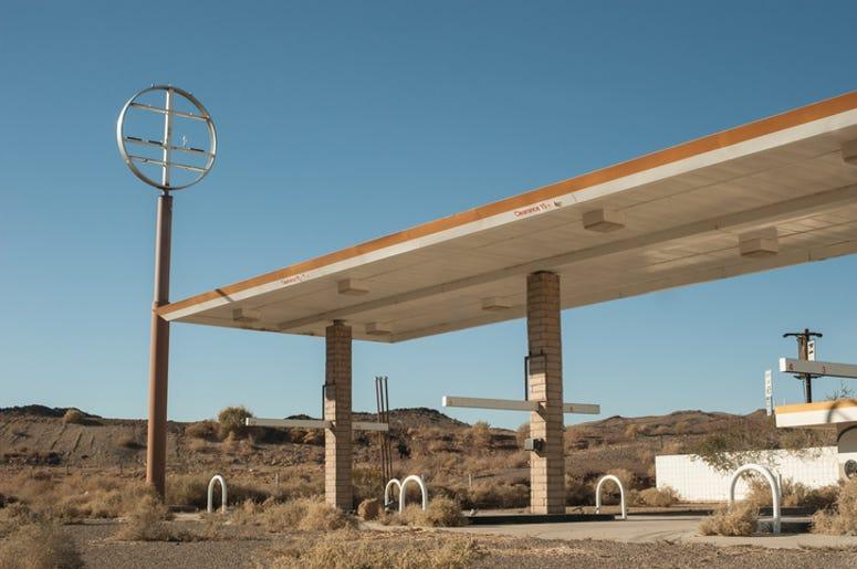 Gas Station Desert