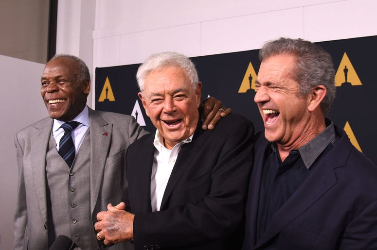 Danny Glover, Richard Donner and Mel Gibson