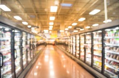 Frozen food aisle