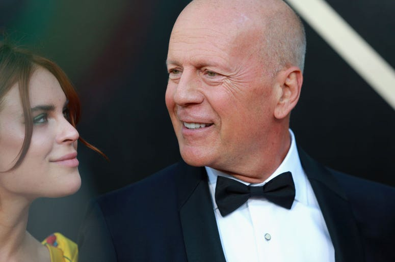 Tallulah and Bruce Willis