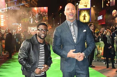 Kevin Hart & Dwayne The Rock Johnson