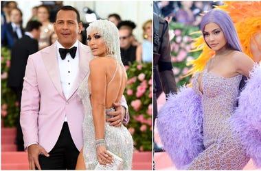 Kylie Jenner, Alex Rodriguez, Jennifer Lopez