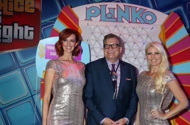 """""""The Price Is Right"""" host Drew Carey, Plinko Games"""