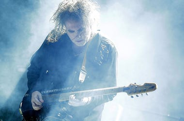 Robert Smith of The Cure performs during Splendour in the Grass 2016 on July 23, 2016 in Byron Bay, Australia