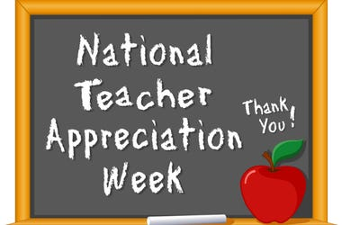 Local,Teacher,Appreciation,Day,Week,May,7th,8th,11th,2018,DFW,Food,Free,Deals,List,Guide,100.3 Jack FM