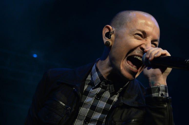 Chester Bennginton, Linkin Park, Concert, Singing, Screaming, Fort Lauderdale, Florida, 2013