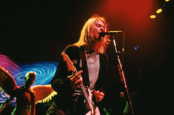 Kurt Cobain, Nirvana, Concert, Singing, New York Coliseum, 1993