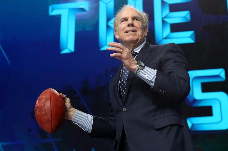 Roger Staubach, NFL Draft, Football, AT&T Stadium, 2018