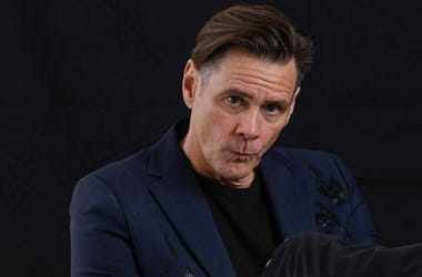 Jim Carrey, Pout, Duck Lips, Portrait, Kidding, 2018
