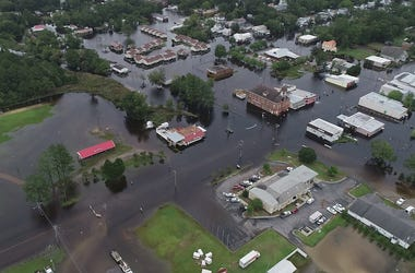 Hurricane Florence, North Carolina, Flooded, Streets, Neighborhood