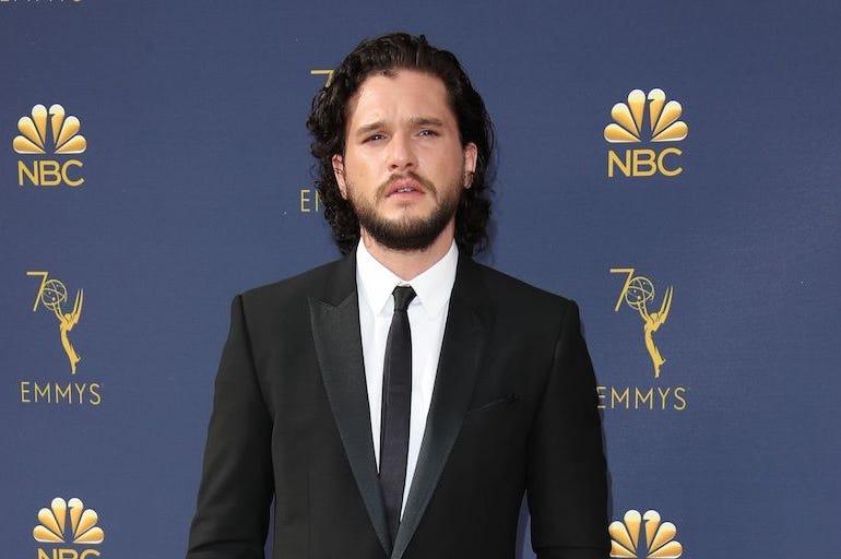 Kit Harrington, Red Carpet, Tuxedo, 70th Emmy Awards, 2018