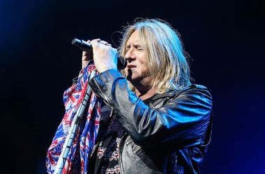Def Leppard, Joe Elliott, Concert, Singing
