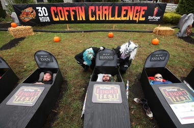 Six Flags Coffin Challenge