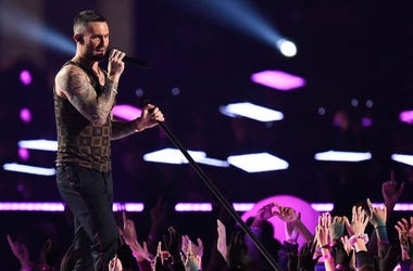 Adam Levine, Maroon 5, Super Bowl LIII, Halftime Performance