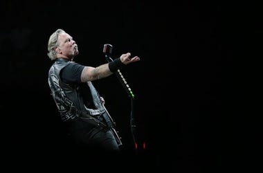 James Hetfield, Metallica, Posing, Concert, El Paso, Don Haskins Center, 2019