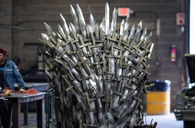 Game of Thrones, Iron Throne, Replica, Knight School of Welding, 2019