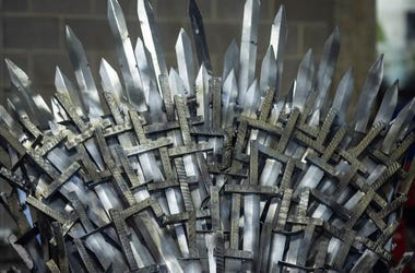 Iron Throne, Top, Pointy, Replica, Swords, Close Up, Full Size, Knight School of Welding, 2019