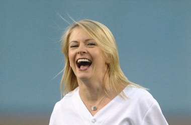 Melissa Joan Hart, Smile, Laughing, First Pitch
