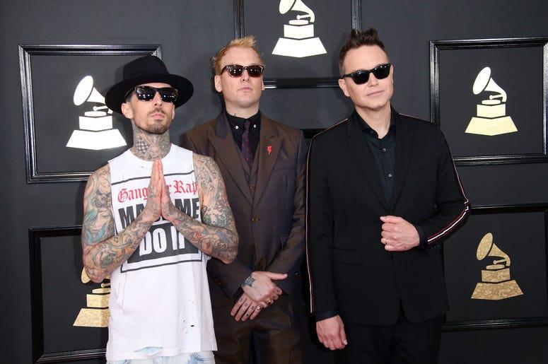 Travis Barkerand Blink-182
