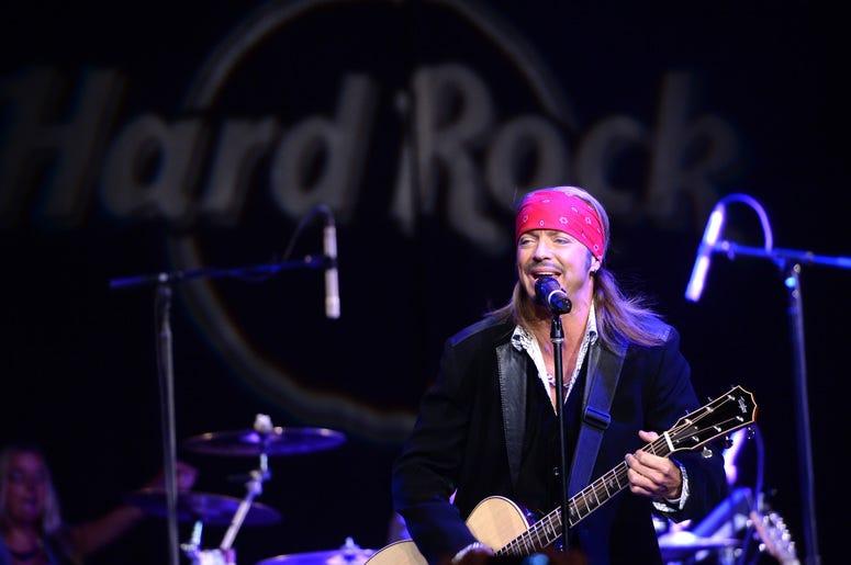 Singer Bret Michaels