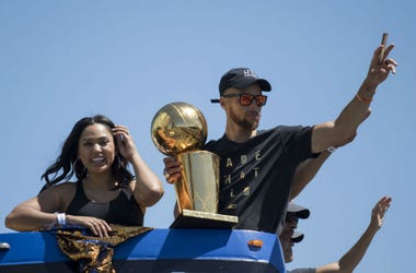 Ayesha and Stephen Curry
