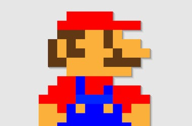 Mario, Pixel, Video Game, Nintendo
