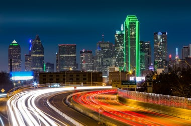 Dallas freeway