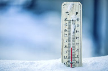 Winter, Thermometer, Temperature
