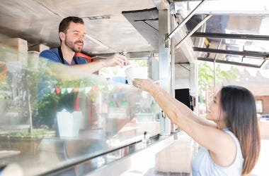 Food Truck, Female, Customer