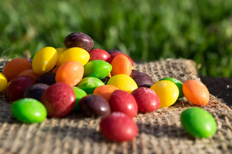 Skittles, Candy, Pile