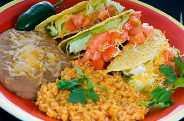 Mexican Food, Plate, Tacos