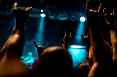 Metal, Rock, Concert, Devil Horns