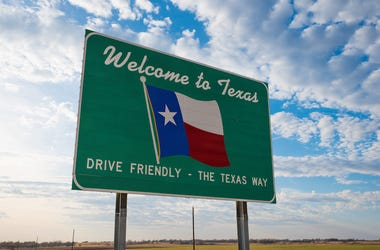 Welcome to Texas, Road Sign, Texas