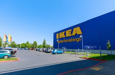 IKEA, Facade, Store, Entrance, Parking Lot